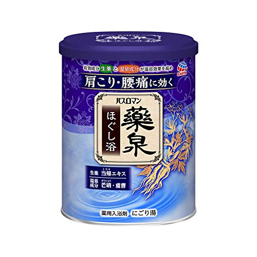【医薬部外品】バスロマン薬泉 入浴剤 ほぐし浴 750g