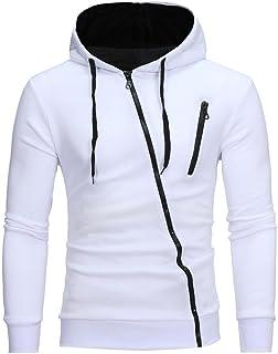 Amazon.es: Chaqueta Blanca Hombre - Negro