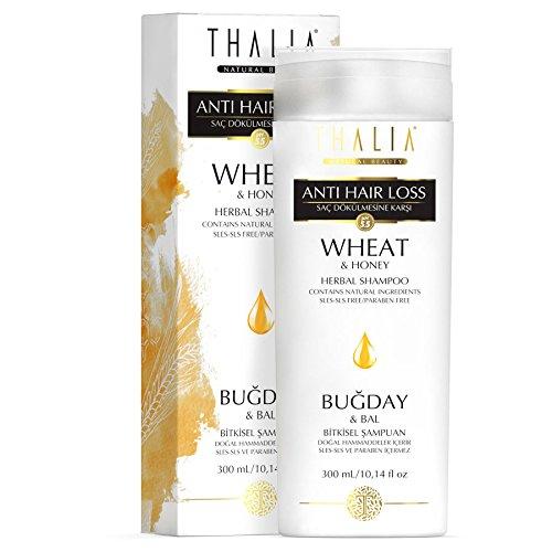 Thalia Haarpflege Shampoo mit Weizen für Strapazierte und gefärbte Haare 300 ml