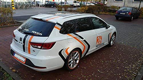 Solarplexius Sonnenschutz Autosonnenschutz Scheibentönung Sonnenschutzfolie Seat Leon ST BJ. ab 13