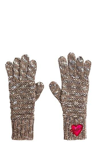 Desigual Damen GLOVES_BÁSICO Handschuhe, Braun (Brown), U