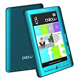 BILLOW Libro ELECTRONICO Multimedia Pantalla DE 7 TFT Color Azul