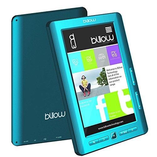 Billow E2TLB - eBook-Reader (TFT, 800 x 480 Pixel, 16:9, ePub, FB2, HTML, MOBI, PDB, PDF, RTF, TXT, AAC, APE, FLAC, MP3, OGG, WAV, WMA, BMP, GIF, JPG, PNG)