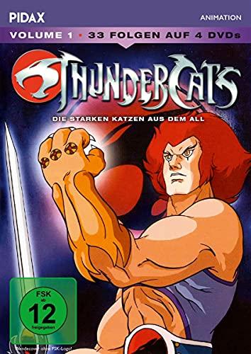 ThunderCats - Die starken Katzen aus dem All, Vol. 1 / Die ersten 33 Folgen der Kult-Serie (Pidax Animation) [4 DVDs]