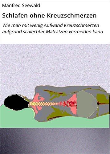 Schlafen ohne Kreuzschmerzen: Wie man mit wenig Aufwand Kreuzschmerzen aufgrund schlechter Matratzen vermeiden kann (Schädliche Umwelteinflüsse 1)