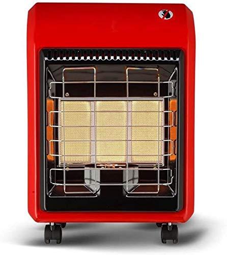 WSJTT Calefactor Calentadores de Gas de gabinete de GLP, Calentadores de Exterior, propano de Patio, Calentadores de Gas térmicos, Ruedas portátiles, Calentadores radiantes Infrarrojos.
