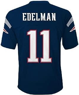 Julian Edelman New England Patriots NFL Kids Navy Home Mid-Tier Jersey