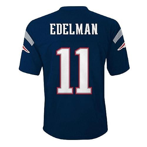 pretty nice 25c29 73c7e Edelman Patriots Jersey: Amazon.com