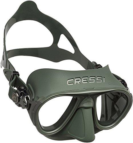Cressi Calibro Máscara polyvalent para Buceo, apnea Avanzada y submarina Fishing, Unisex Adulto