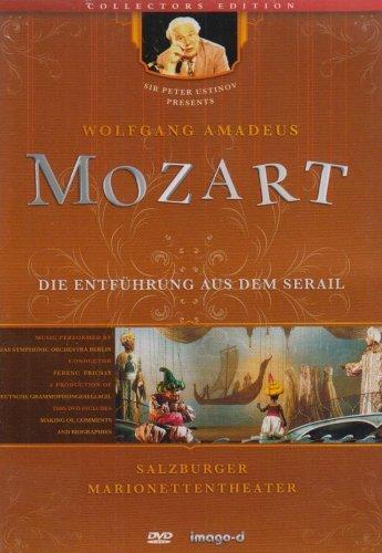 Die Entführung aus dem Serail - Salzburger Marionettentheater, 1 DVD