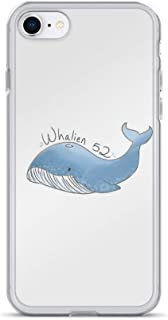 iPhone 7/8 Pure Clear Case Cases Cover Whalien 52 {BTS}