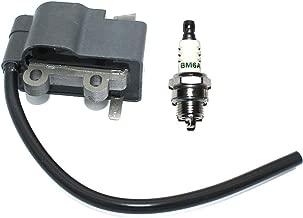 Ignition Coil With BM6A For ECHO Models HC-160 HC-161 HC-180 HC-181 HC-200 HC-201 SHC-210 SHC-211 SHC-212 SRM-210 SRM-210SB SRM-210U SRM-210i SRM-211 SRM-211SB SRM-211U SRM-211 Parts# A411000140 BPM8Y