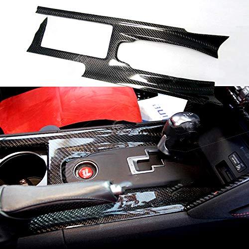 Na Mittelkonsolenabdeckung aus Carbonfaser, RHD, glänzendes Finish, Innenausstattung, für Nissan R35 GTR Tuning
