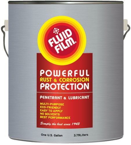 Fluid Film 1 Gallon Can Rust Inhibitor Rust Prevention Anti Corrosion Anti Rust Coating Undercoating...