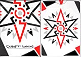BOCOPO Cardistry Fanning White Playing Cards Poker Size Deck USPCC Custom Limited