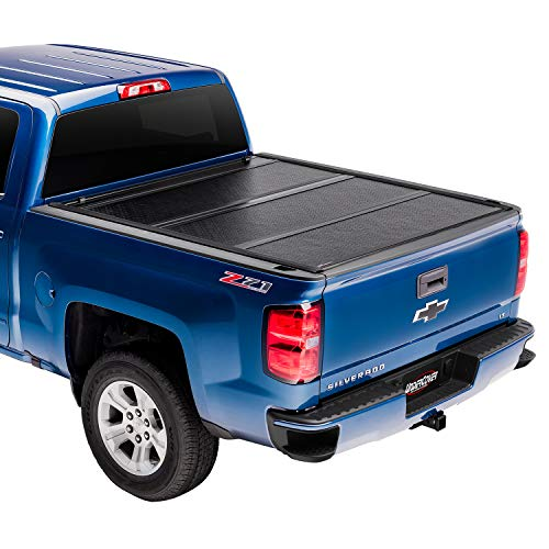 Undercover Flex Hard Folding Truck Bed Tonneau Cover | FX21019 | Fits 2015 - 2020 Ford F-150 5' 7' Bed (67.1')