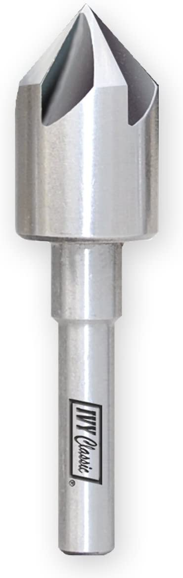 Some reservation IVY Classic 09050 Max 84% OFF 1 2-Inch M2 5 Speed Fl Steel Countersink High