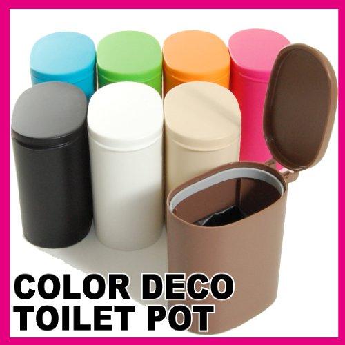 COULEUR DECO toilettes pot d'Ivoire (japon importation)