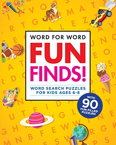Compare Textbook Prices for Word for Word: Fun Finds!: Word Search Puzzles for Kids ages 6-8  ISBN 9781641525831 by Rockridge Press