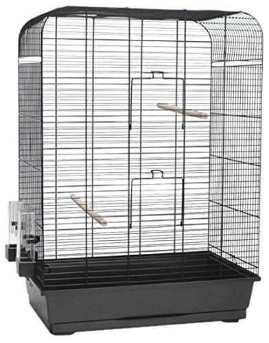Beeztees jaula de pájaros Nina, 54x 34x 75cm, White P