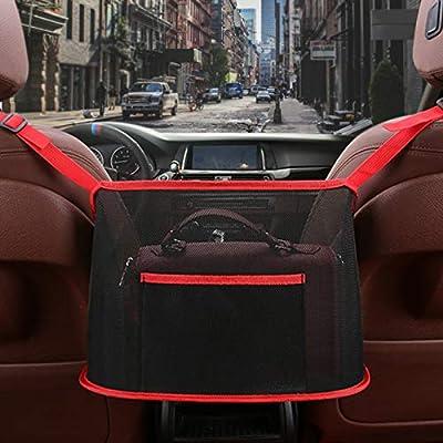 Amazon - Save 50%: Car Net Pocket Handbag Holder Seat Back Organizer Mesh, Driver Storage Net…