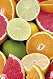 1art1 Kochkunst - Zitrusfrüchte Selbstklebende Fototapete Poster-Tapete 180 x 120 cm
