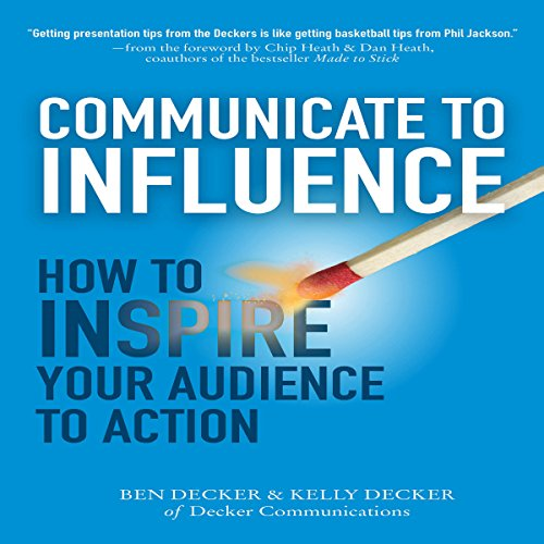 Communicate to Influence audiobook cover art
