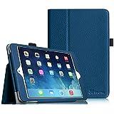 Fintie Folio Hülle für iPad Mini 3/2 / 1 - Slim Fit Kunstleder Schutzhülle Tasche Etui Case Cover mit Auto Schlaf/Wach, Standfunktion, Marineblau