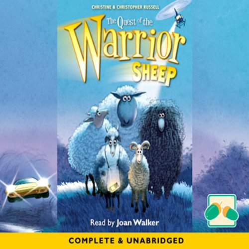 The Quest of the Warrior Sheep audiobook cover art