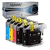 alphaink kit5 cartucce compatibile per brother lc3213 lc-3213 lc3211 lc-3211 per stampanti brother mfc-j491dw mfc-j497dw mfc-j890dw dcp-j572dw mfc-j895dw dcp-j774dw