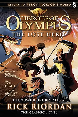 The Lost Hero: The Graphic Novel (Heroes of Olympus Book 1) (English Edition)