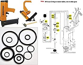 Pro-Parts New O-ring Maintenance Rebuild Kits For Bostitch Hardwood Floor Nailer MIII MIIIFN MIIIFS MIII886 MIII812