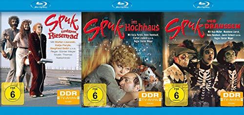 Spuk Trilogie - Spuk unterm Riesenrad + Spuk im Hochhaus + Spuk von draussen - Set - DDR TV-Archiv (3 Blu-ray)