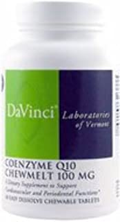 Davinci Laboratories Davinci Laboratories - Coenzyme Q10 Chewmelt 100 Mg, Chewable Heart Health Supplement, 60 Count, 60 C...