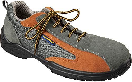 Goodyear S1P Mod.G138882 - Zapatillas de Seguridad TG.42 S1P Grigio Arancio
