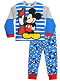Disney - Pigiama a Maniche Lunga per Ragazzi - Mickey Mouse - 3 a 4 Anni