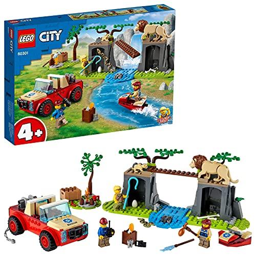 OfferteWeb.click K4-lego-city-wildlife-fuoristrada-di-soccorso-animale-set-per