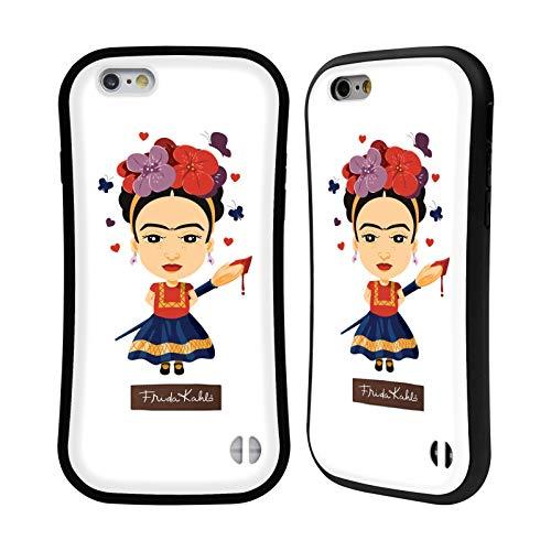 Head Case Designs Ufficiale Frida Kahlo Solo Bambola Cover Ibrida Compatibile con Apple iPhone 6 / iPhone 6s