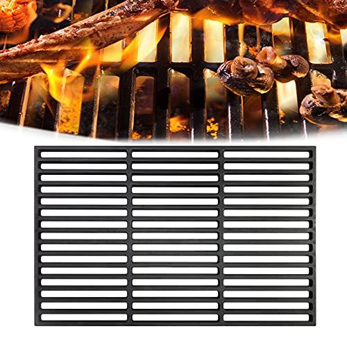HENGMEI Gusseisen Grillrost Gussrost Markengrillrost Emailliert Grillgitter Grill Grillaufsatz für Holzkohlegrill, Gasgrill (42 x 28 cm)