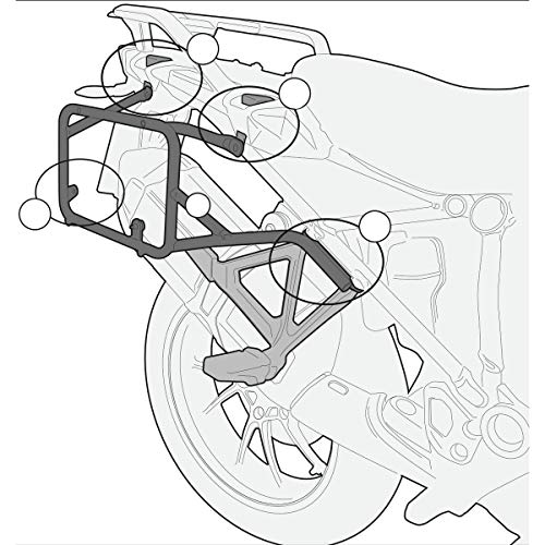 Givi PL5108CAM - Portaequipajes lateral Monokey Outback para BMW R 1200 GS 2013
