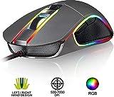 KLIM AIM Souris de Jeu Chroma RGB - NOUVEAU - PRÉCISE - USB Filaire - 500 à 7000...