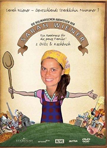 Die kulinarischen Abenteuer der Sarah Wiener - Staffel 1 (2 DVDs + Kochbuch)