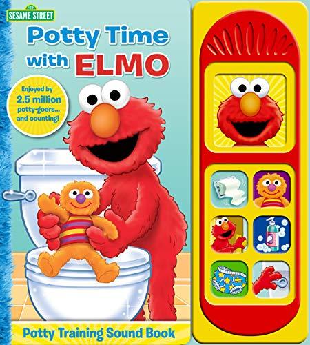 Sesame Street - Potty Time with Elmo - Potty Training Sound Book - PI Kids