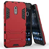 Shockproof with Kickstand Feature Case for Nokia 6 (5.5