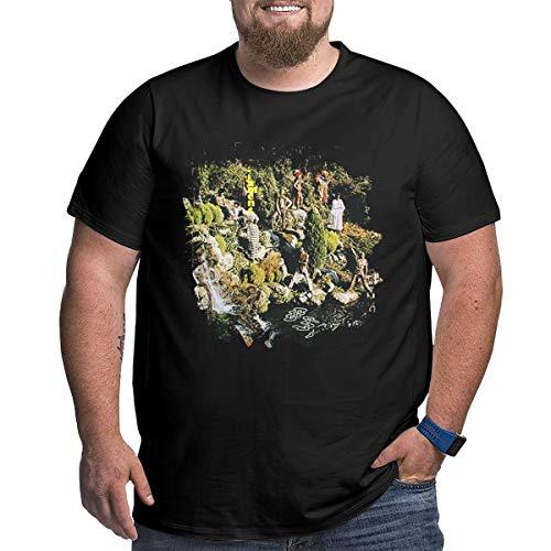 T-shirt Tee à manches courtes col rond Casual Classic Print Imprimé Hommes Bolf 3c3 Motif