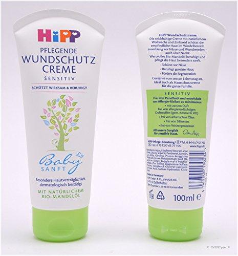 Hipp Babysanft pflegende Wundschutz-Creme, 2er Pack (2 x 100ml)