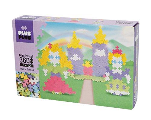 Plus-Plus 52214 - steekspelen, mini pastel 360, Castle