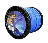 Greenstar - Bobine fil nylon, bleu, carré, 45m - Ø 3,30mm