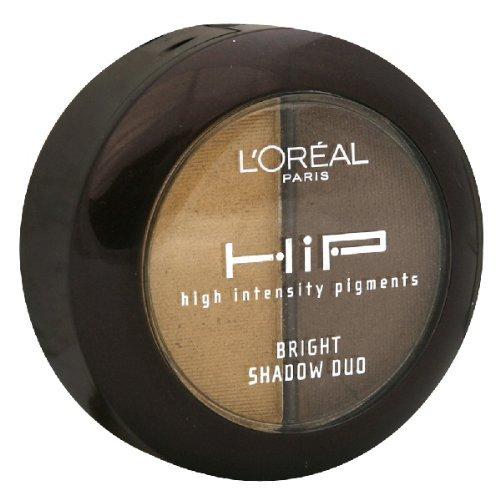 L'Oreal Paris HiP Studio Secrets Professional Bright Shadow Duos, Bustling, 0.08 Ounce