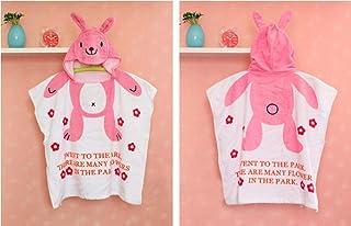 Print Yoga Mat Children'S Bathrobes, Children'S Cartoon Bathrobe, Hooded Cloak, Bath Towel Rabbit Height Below 110Cm 瑜伽垫
